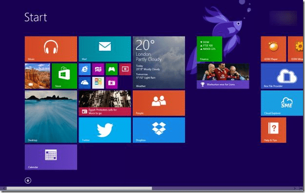 Disable Start Screen Windows 8
