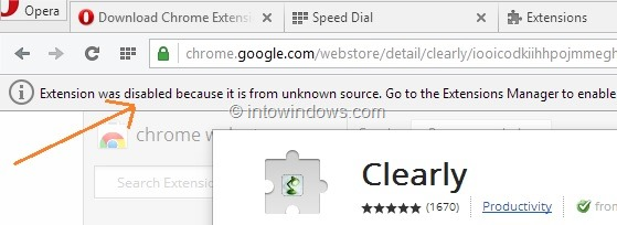 How To Install Google Chrome Extensions In Opera Browser pic4