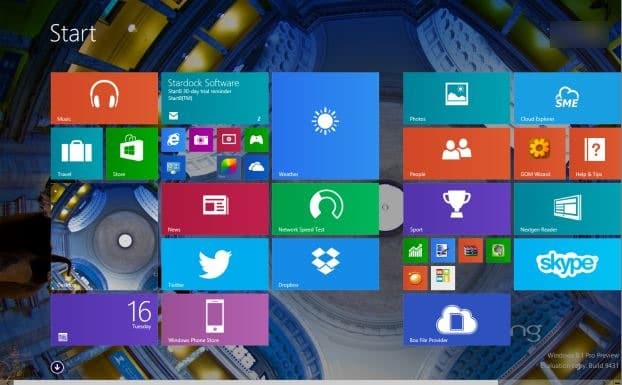 how to pin apps to the start screen in windows 8.1