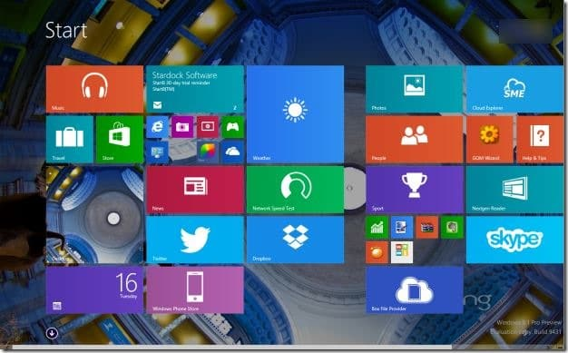 Set Bing Picture Start Screen Background Step6