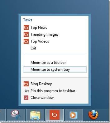 Set Bing Picture Start Screen Background