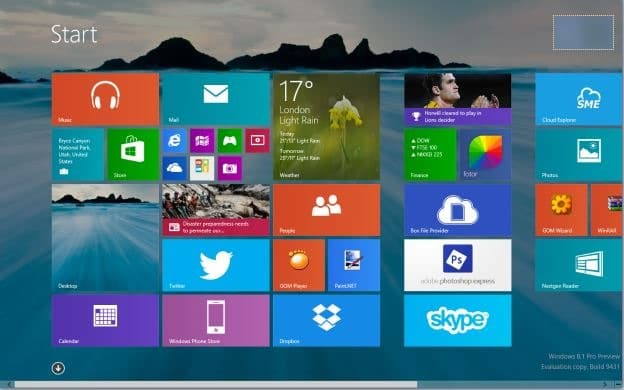 How to set desktop background wallpaper as start screen background in windows 8 1 - Set video as wallpaper ...
