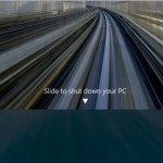 How To Use The Hidden Slide To Shut Down Feature In Windows 8.1