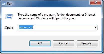 Uninstall Internet Explorer IE from Windows 7