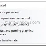 How To Get Windows Experience Index (WEI) Score In Windows 8.1