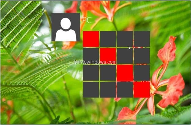 picture password in Windows 7 step6