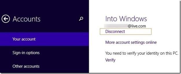 rename Microsoft Account Name on Start screen Step4