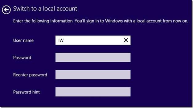 rename Microsoft Account Name on Start screen Step6