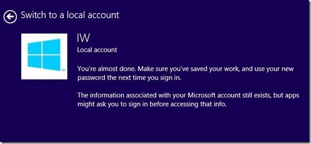 rename Microsoft Account Name on Start screen Step7jpg