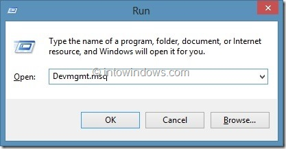Check Driver Version In Windows Step1