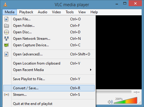 Convert Video Using VLC Media Player Picture2