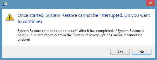 Create a restore point in Windows 8.1 Step99