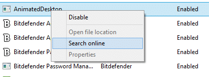Disable Startup Programs in Windows 8.1