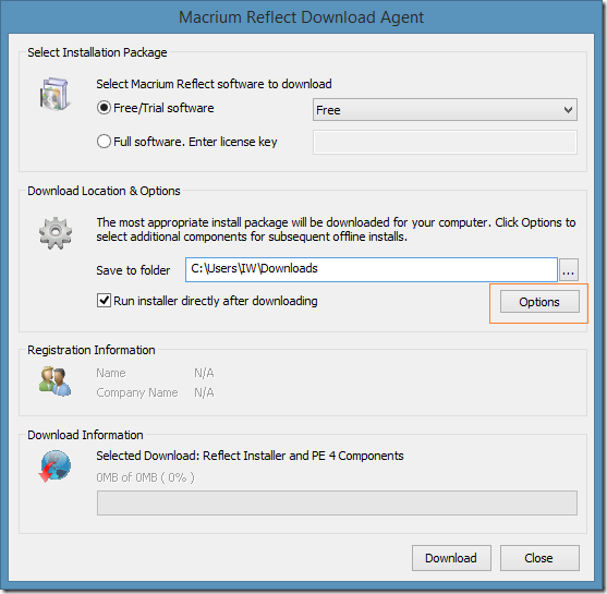 How to install Macrium Reflect Free