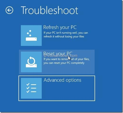 Restore Windows 8.1 Image Step21