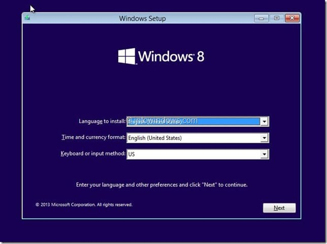 Restore Windows 8.1 Image