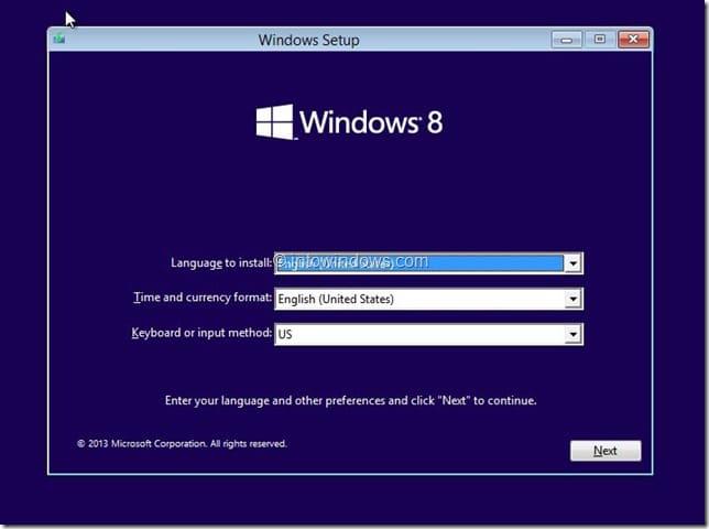 Restore Windows 8.1 Image
