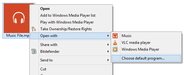 Set Windows Media Player as Default Audio Player in Windows 8.1 Step6