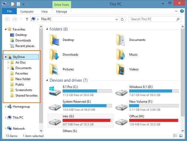 explorer update windows 8.1