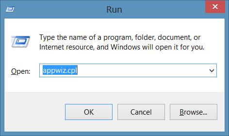 Uninstall HP Quick Start in Windows