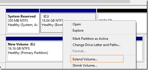 increase virtualbox disk size in Windows Step4
