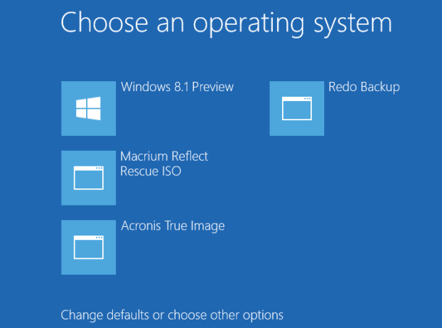 Boot from ISO In Windows