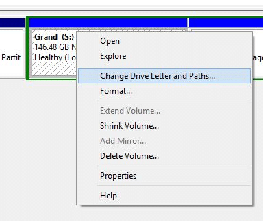 Change Drive Letter in Windows 8.1 Step2