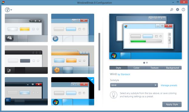 Change Folder Background In Windows 8.1 Using WindowBlinds Step5