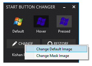 How To Change Start Button In Windows 8 1