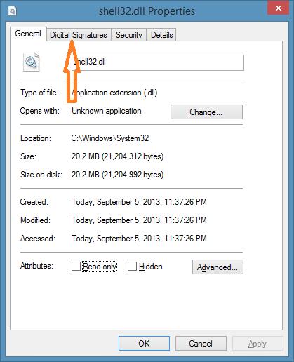 Details Pane in Windows 8.1