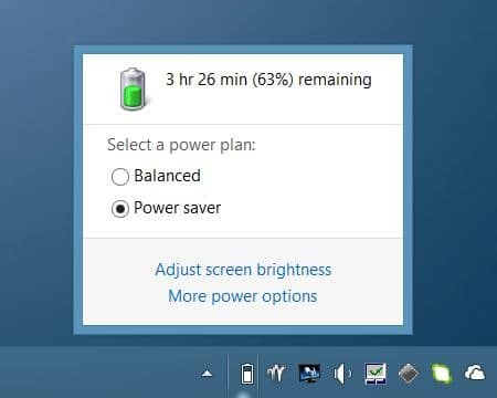Disable Auto Brightness in Windows 8.1 Step1