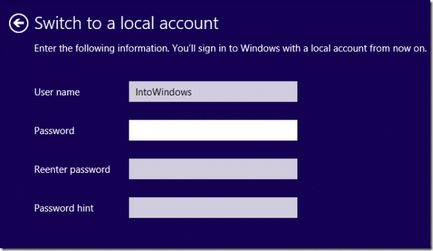 Install Windows 8.1 Without Microsoft Account Step5