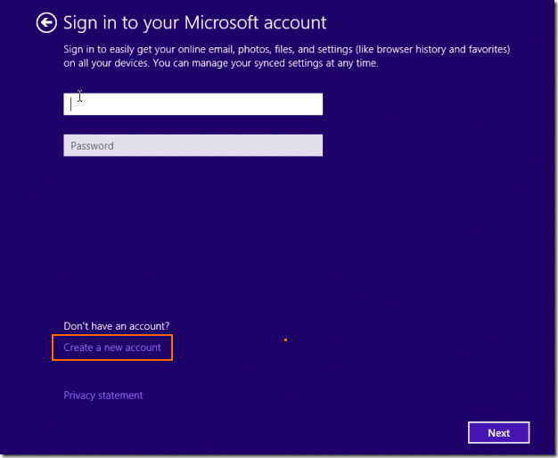 Install Windows 8.1 without Microsoft Account ID (2)