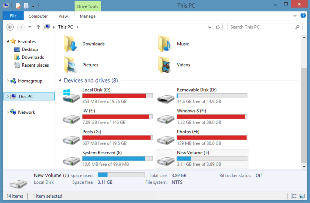 Move Details Pane to bottom Windows 8.1 Explorer