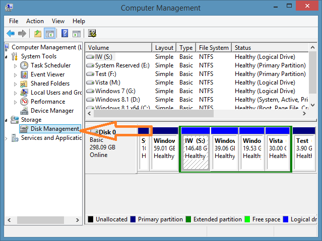 how to check if ports are open windows 8