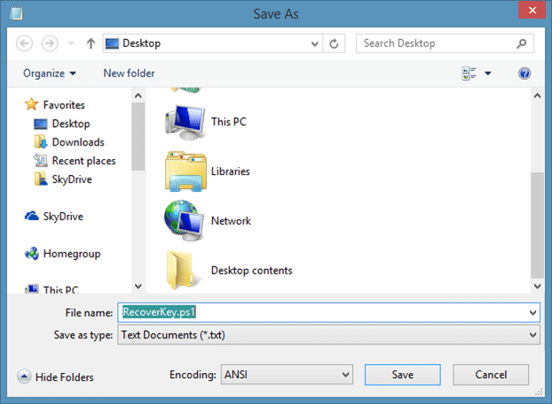 Recover Windows Product Key Without Using Third Party Tools Step2