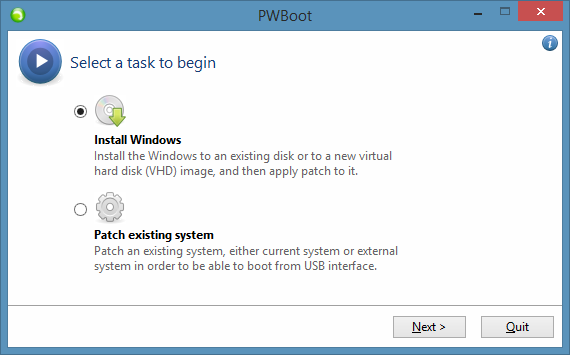 Test Drive Windows 8.1 Without Installing Step1
