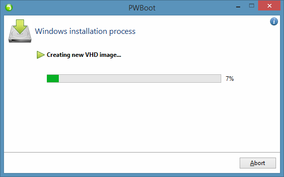Test Drive Windows 8.1 Without Installing Step7