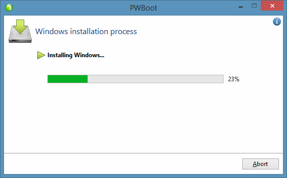 Test Drive Windows 8.1 Without Installing Step8