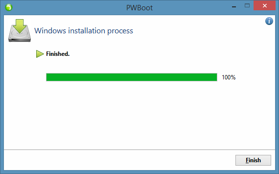 Test Drive Windows 8.1 Without Installing Step9