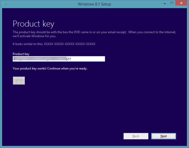 Upgrade Windows 8.1 Preview To RTM Step3