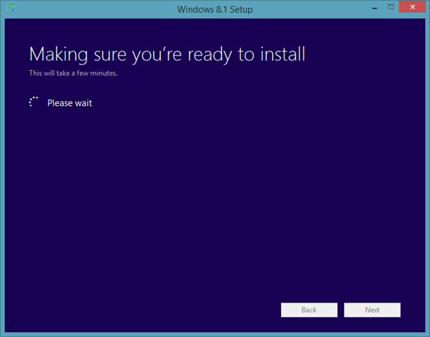 Upgrade Windows 8.1 Preview To RTM Step6