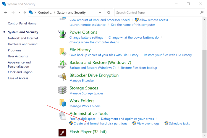 open disk management in Windows 10 pic4
