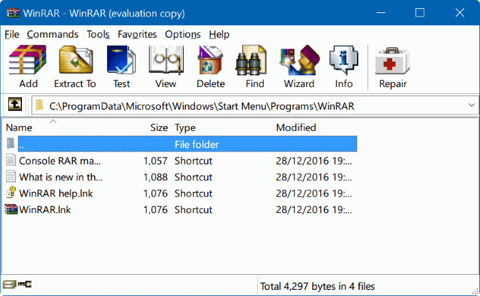 download winzip rar for windows 8