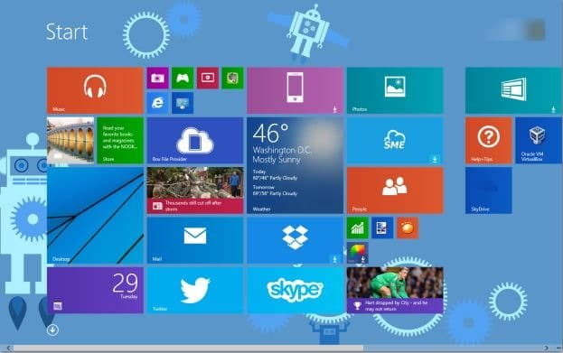 Automatically Change Start Screen Background Color In Windows 8.1