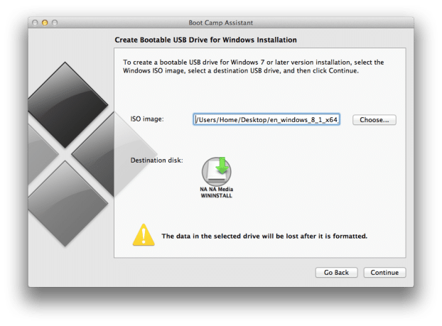 Create Windows 8.1 Bootable USB on Mac (4)