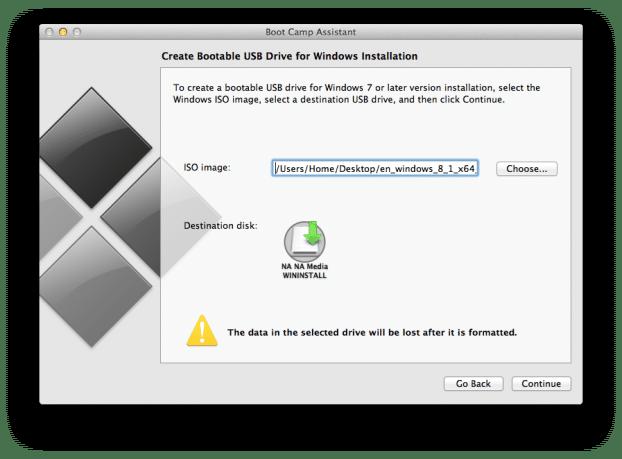 Create Windows 8.1 Bootable USB on Mac (4)