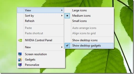 Desktop Gadgets Reviver for Windows 8.1 Picture2