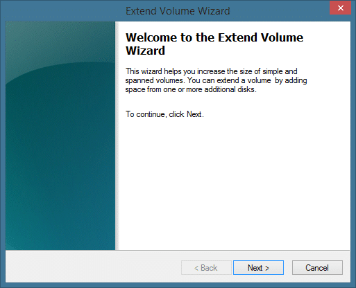 Extend System Partition In Windows 8.1 Method 1 Step2