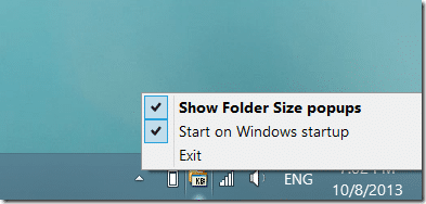 Folder Size in Windows Explorer